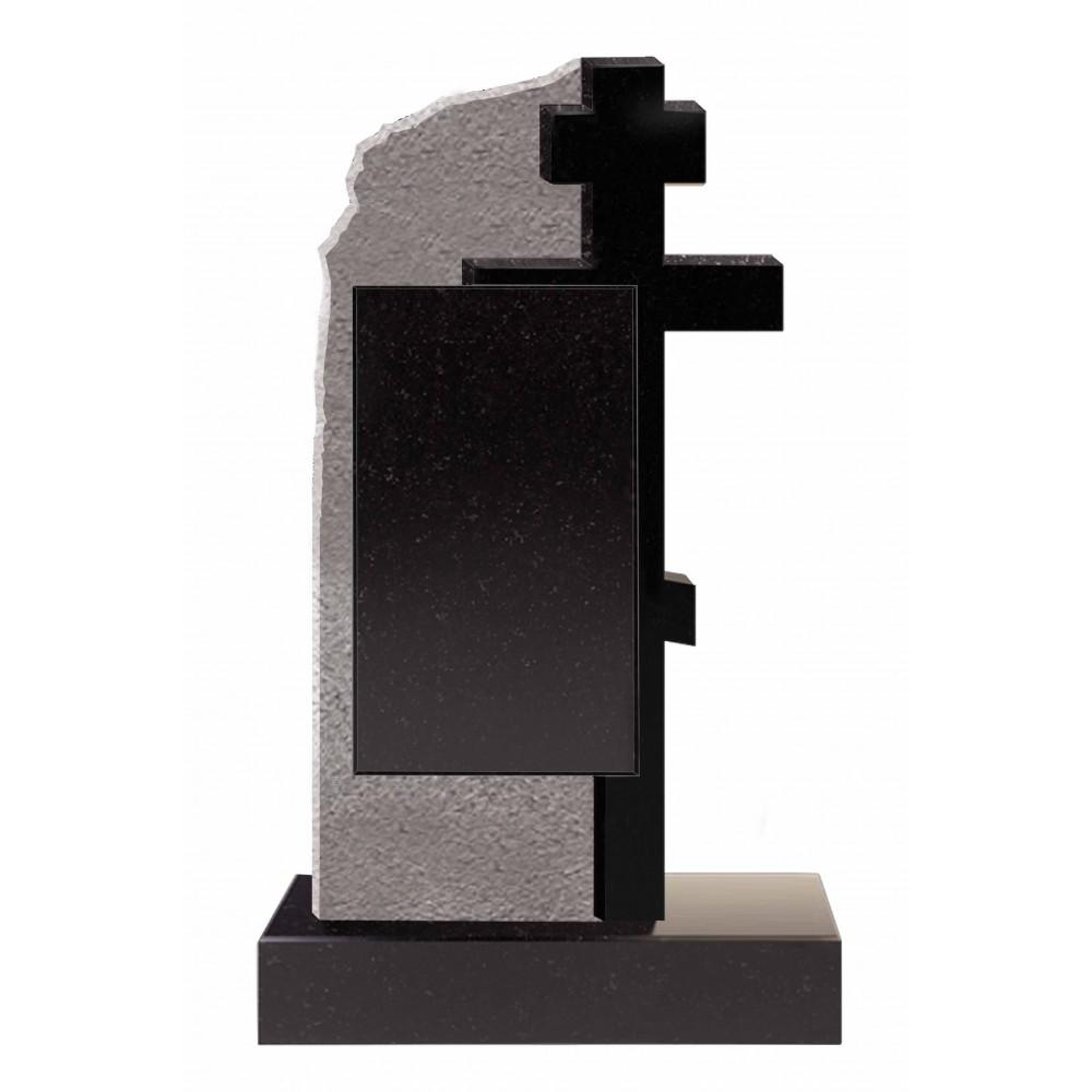 Скала с крестом