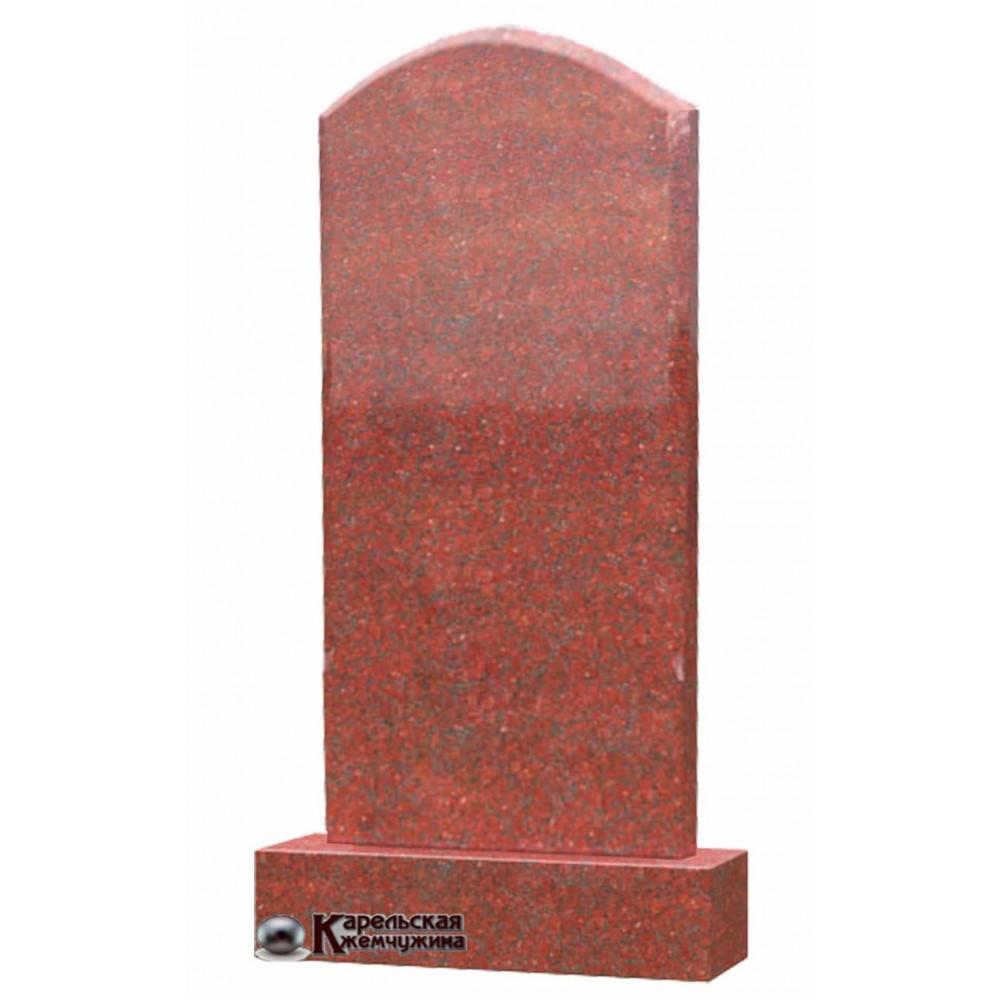 Полукруг красный гранит Питкяранта (Сюскюянсаари)