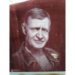 Портрет ручная гравировка